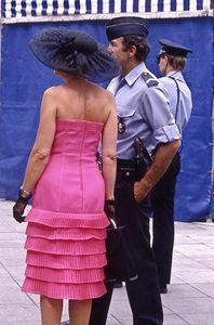 Madame et Gendarme, Arles, France, 1989