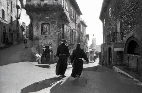 Franciscan Monks, Assisi, Italy, 1999