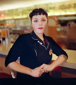 Waitress, Melrose Diner