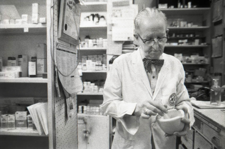 Pharmacist, Atlanta, 1977.