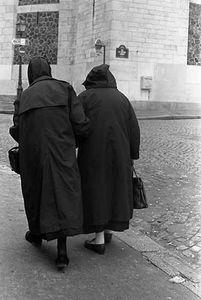 Nuns in Montmarte, Paris, 1989
