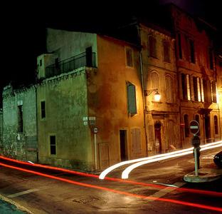 Arles Streeet Scene, Nocturnal Series