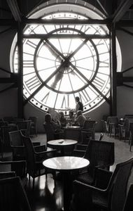 Cafe at Musee D'Orsay, Paris, 1989