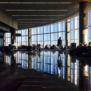 Atlanta International Airport.