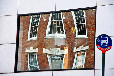 Eileen Fisher Store Reflection