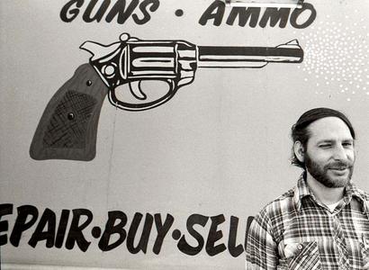 Pawn Shop Owner, Little 5 Points, Atlanta, 1979.