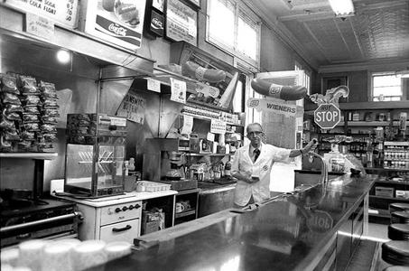 Soda Counter, Atlanta, 1977.
