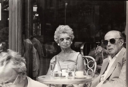 Afternoon at the Cafe, Paris, 1989.