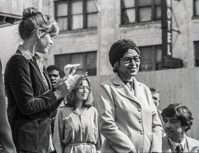 Rosa Parks & Jane Fonda, 1979