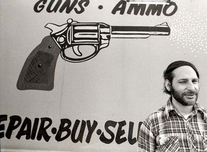 Pawn Shop Owner, Little 5 Points, Atlanta, 1979.
