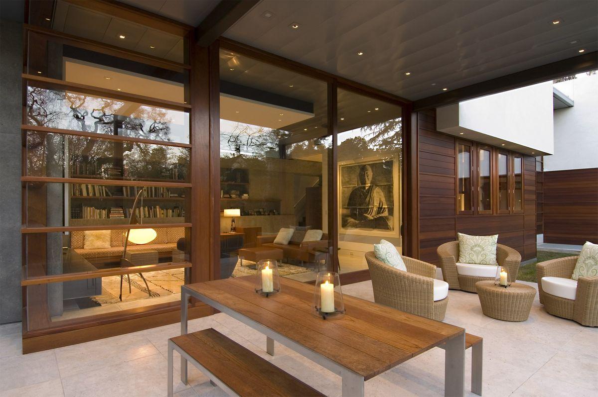 Family room terrace