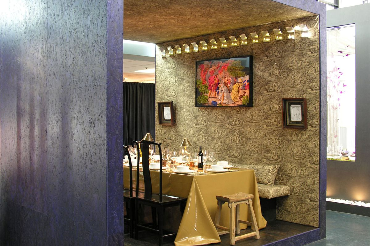 Dining by Design interior view