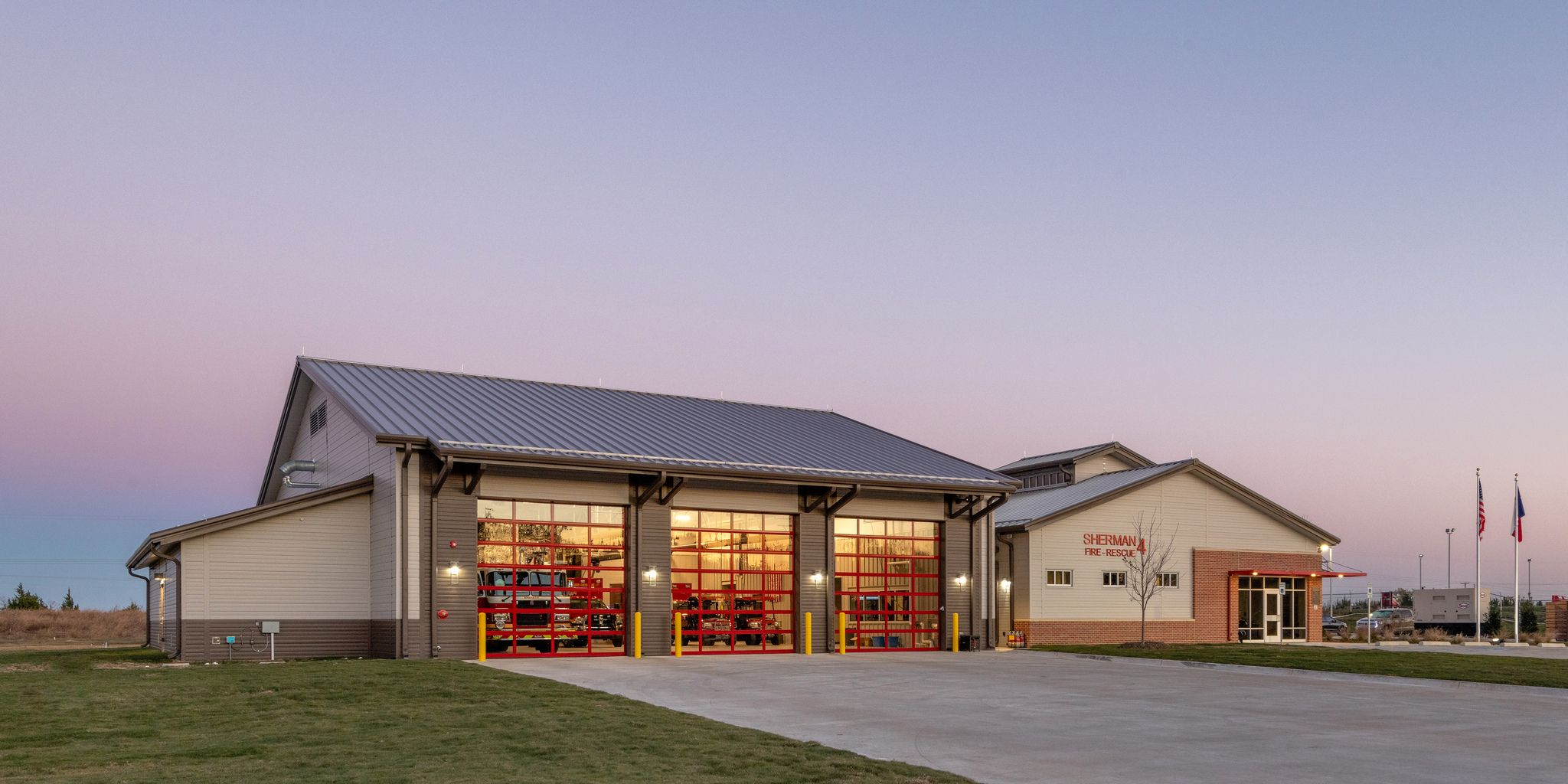 Sherman Fire Station