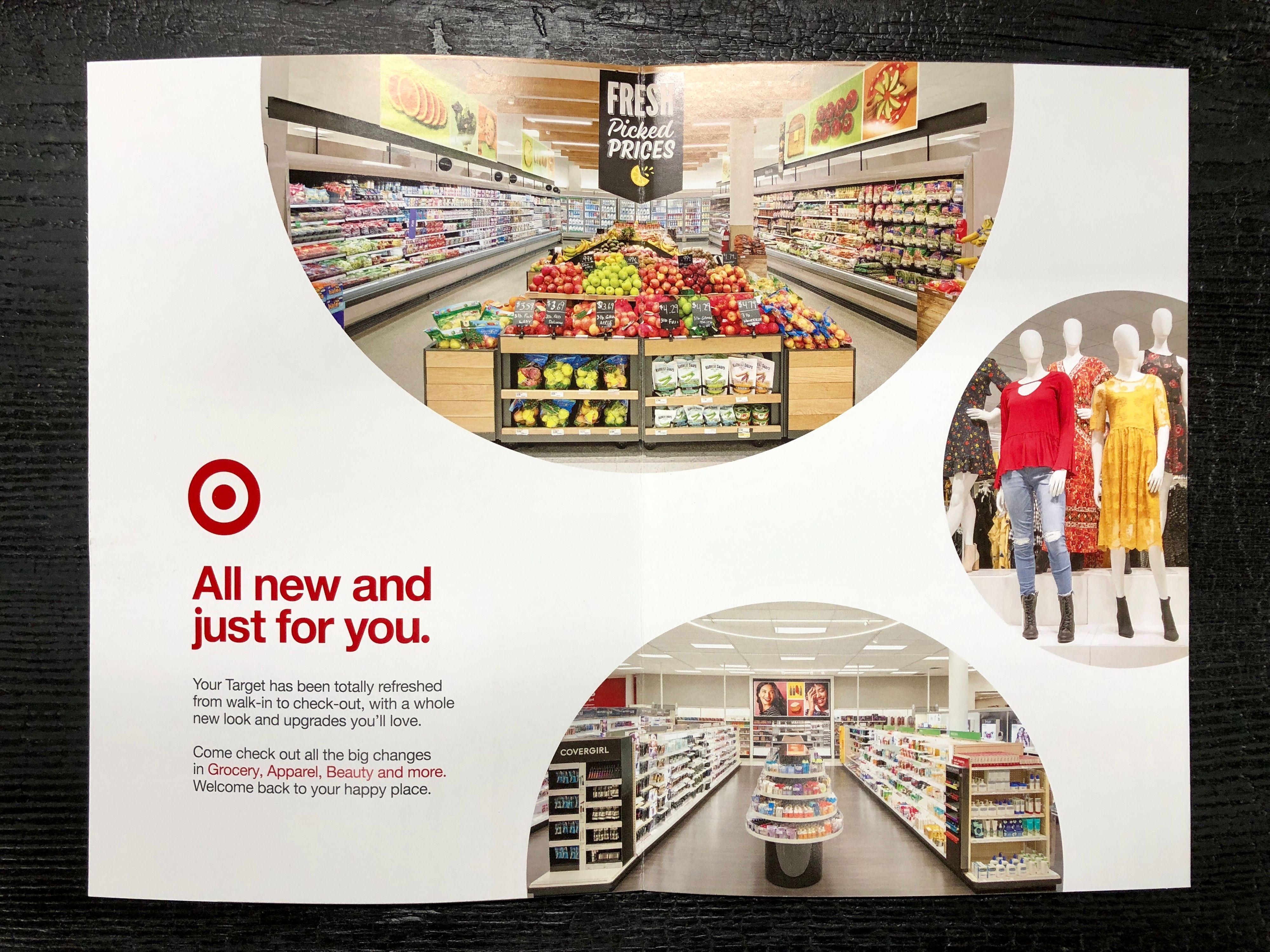 Target Remodel Direct Mailer