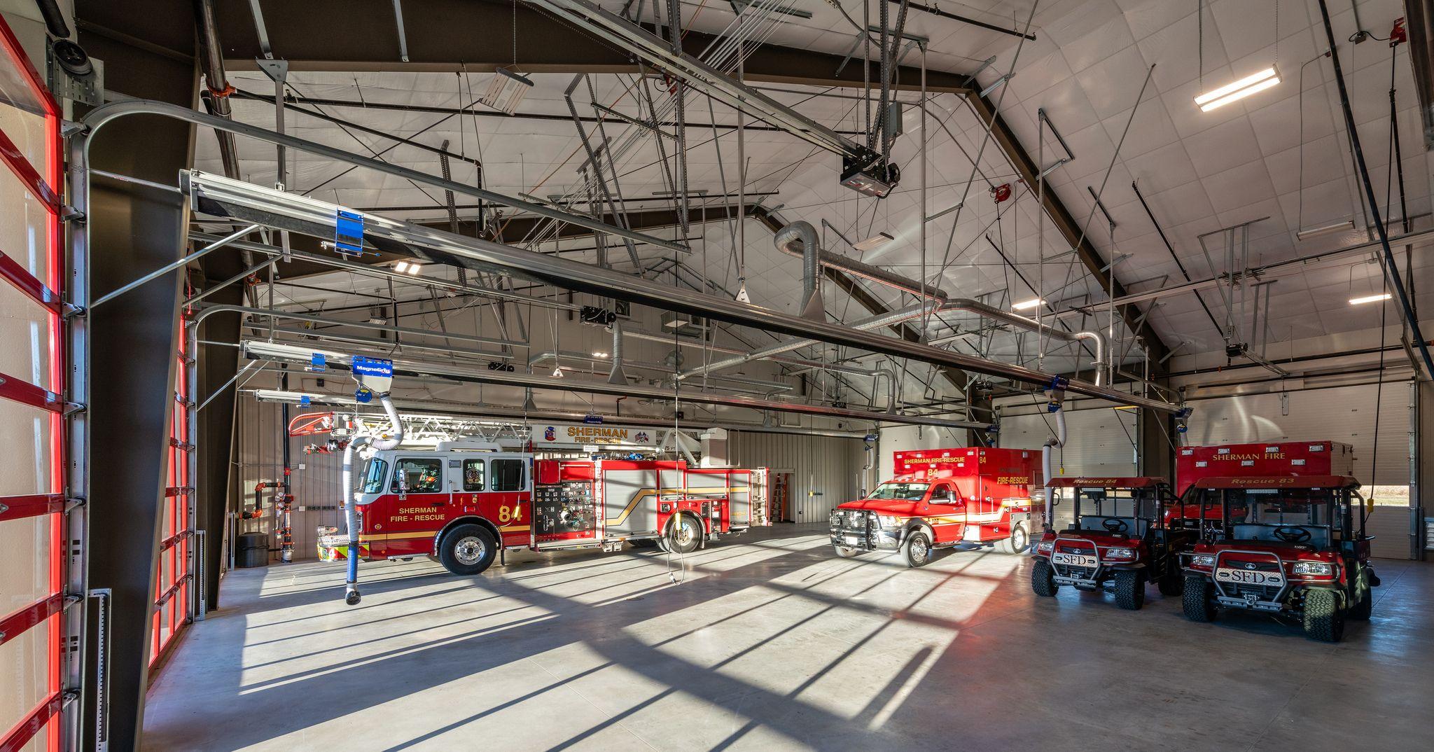 Sherman Fire Station
