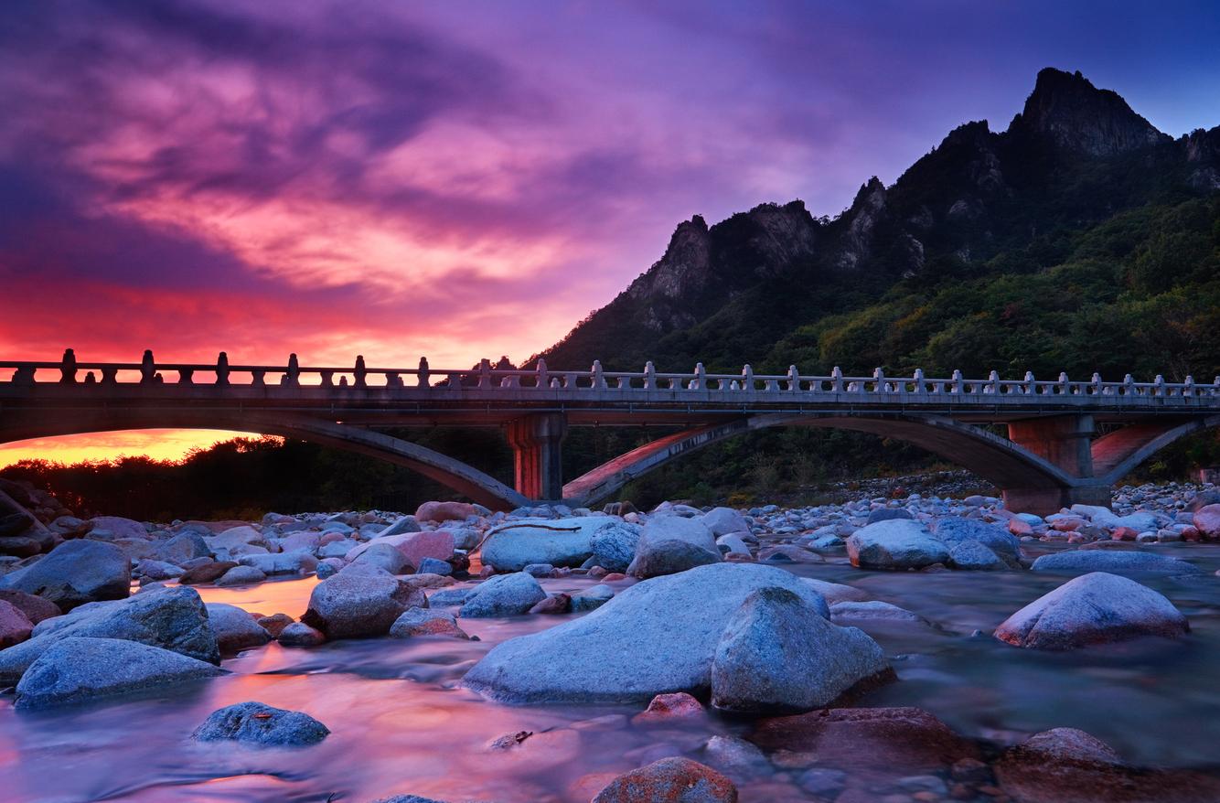 Stone Bridge at Dawn