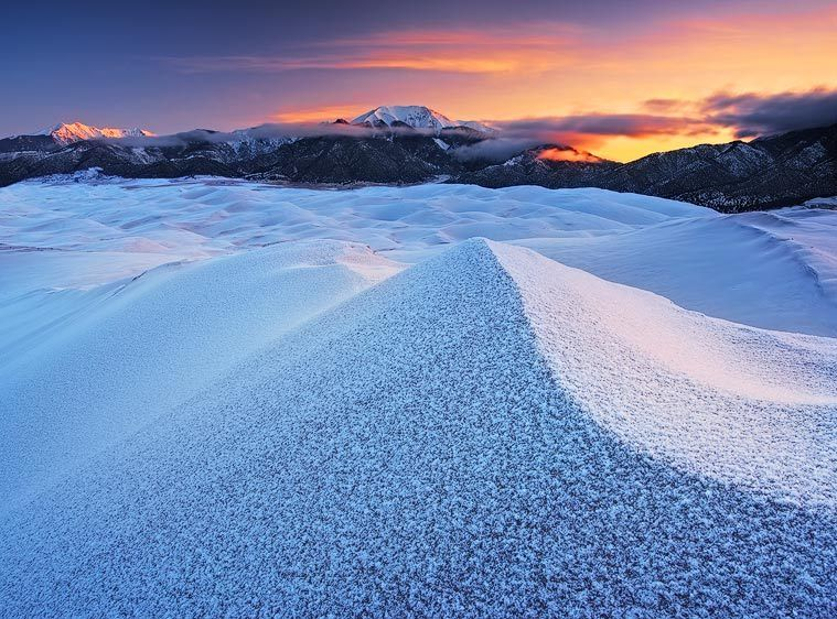 Hoar Frost on High Dune