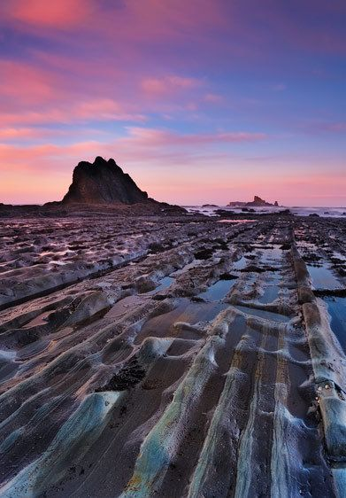 Sandstone and Saltwater, Dawn