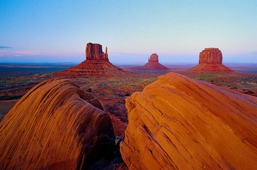 Evening, Monument Valley