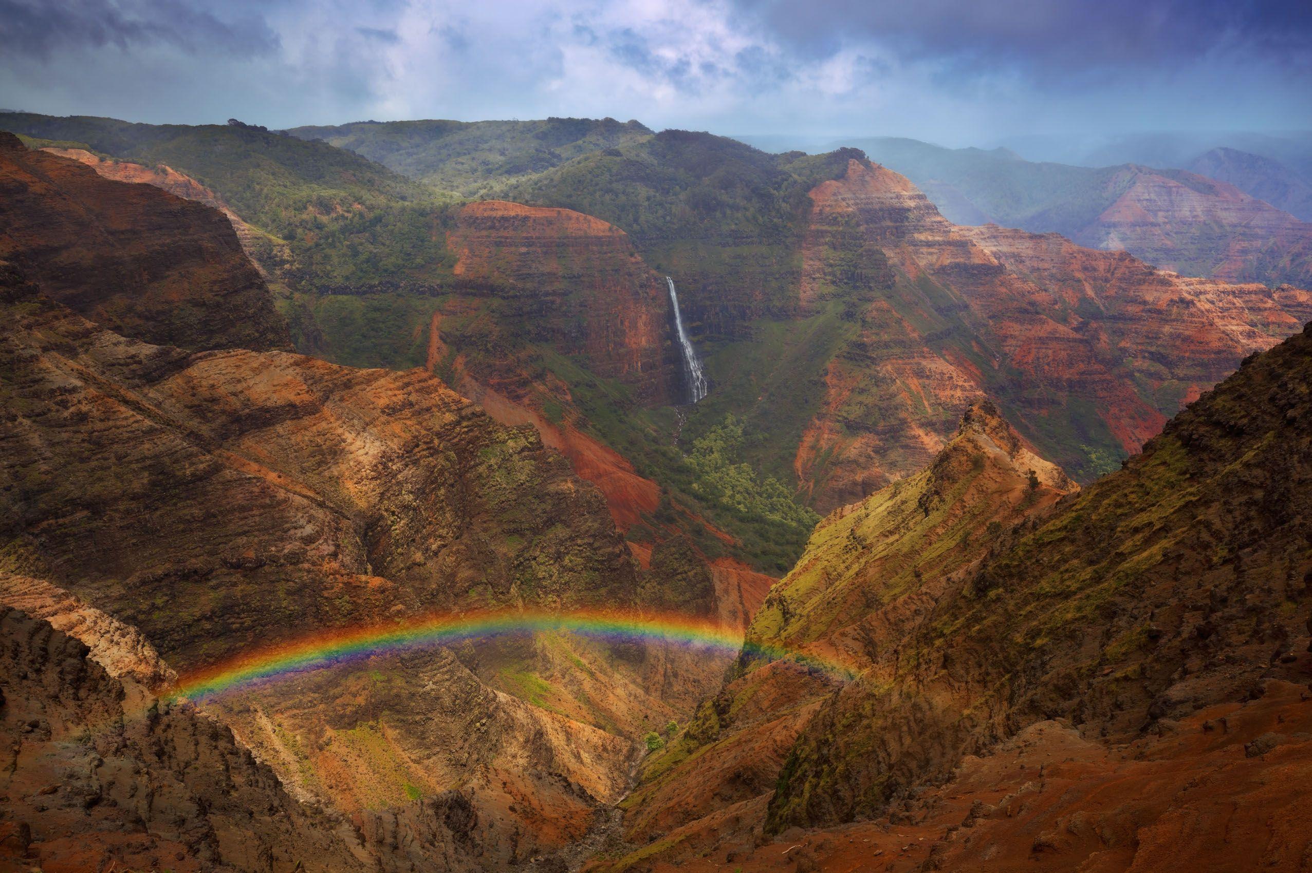 Waipo'o  and Rainbow