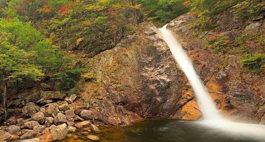 Biryeong Waterfall, SeorakSan National Park