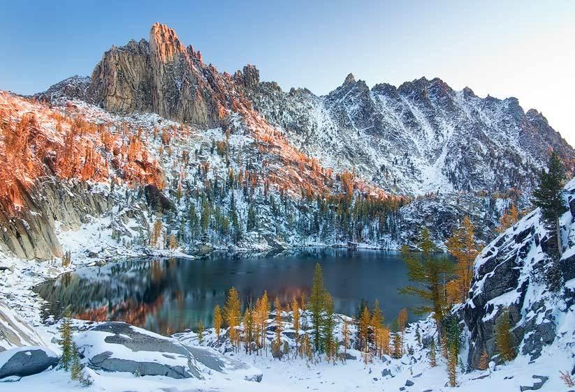 Early Winter, Lake Viviane