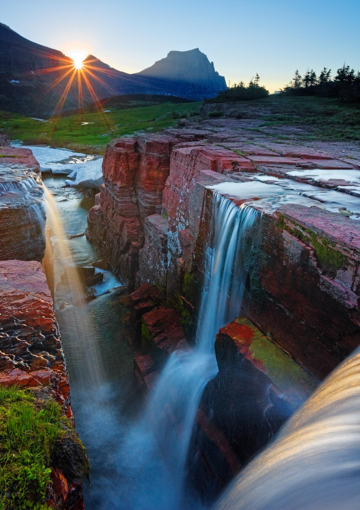 Daybreak, Triple Falls
