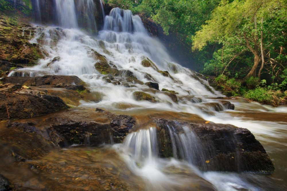 Tropical Flow, Ho'Opi'i Falls