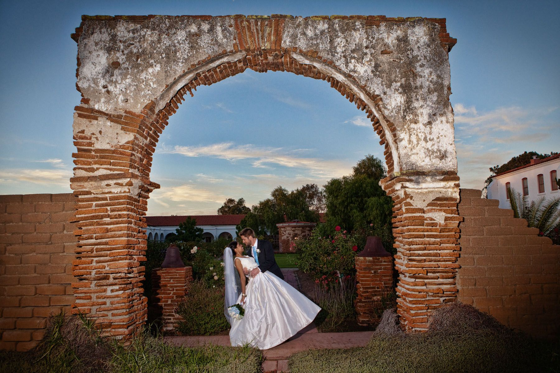 Wedding Photography, Mission San Luis Rey, Oceanside CA