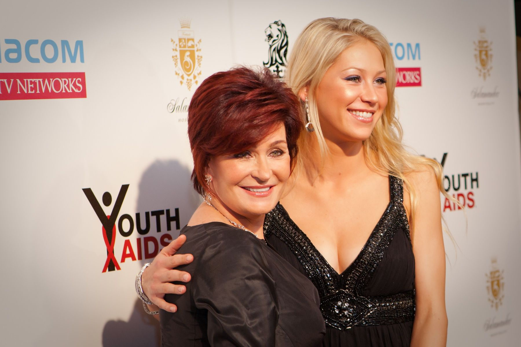 Event Photography, Sharon Osbourne & Anna Kournikova