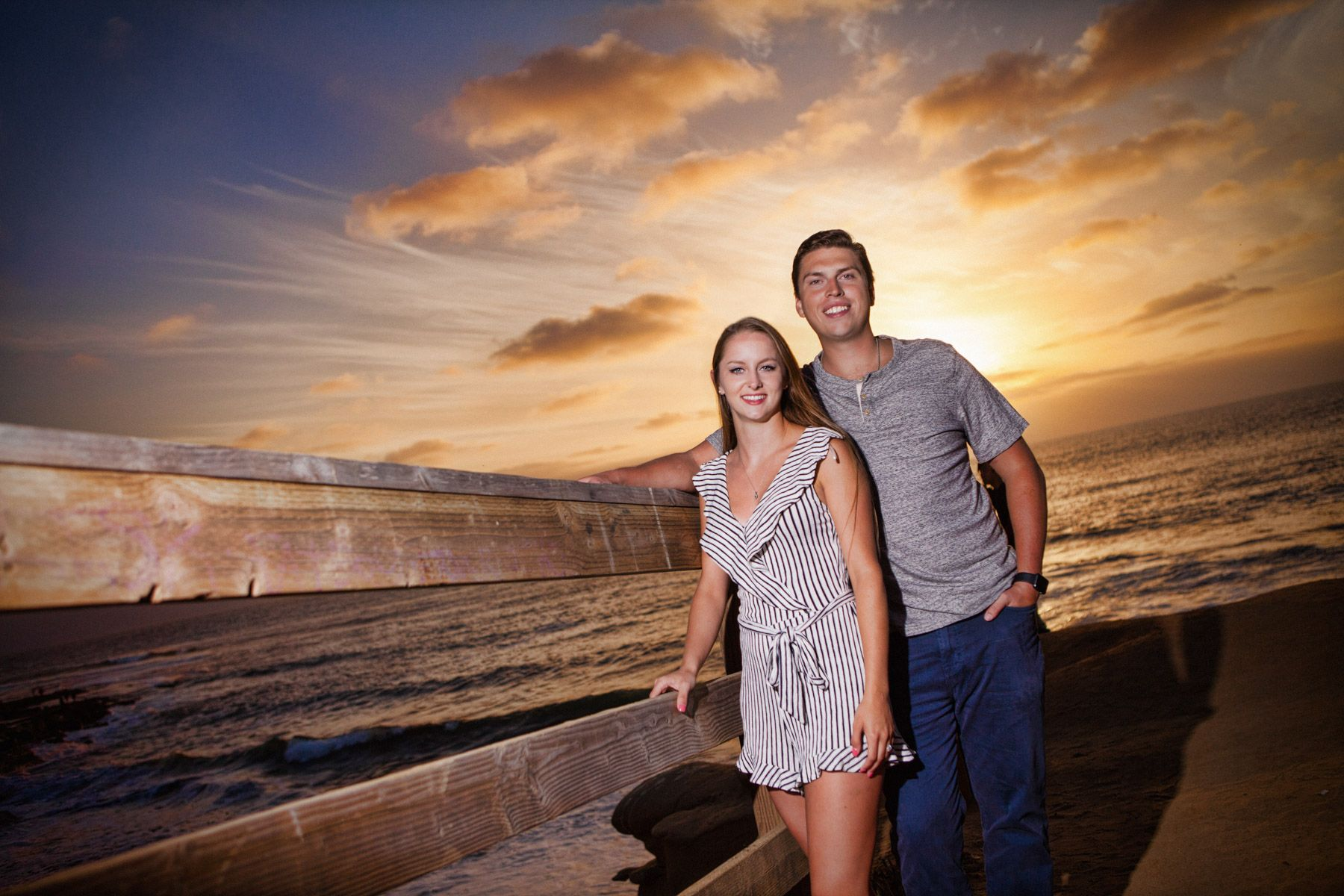 Engagement Photography, The Wedding Bowl, La Jolla California.