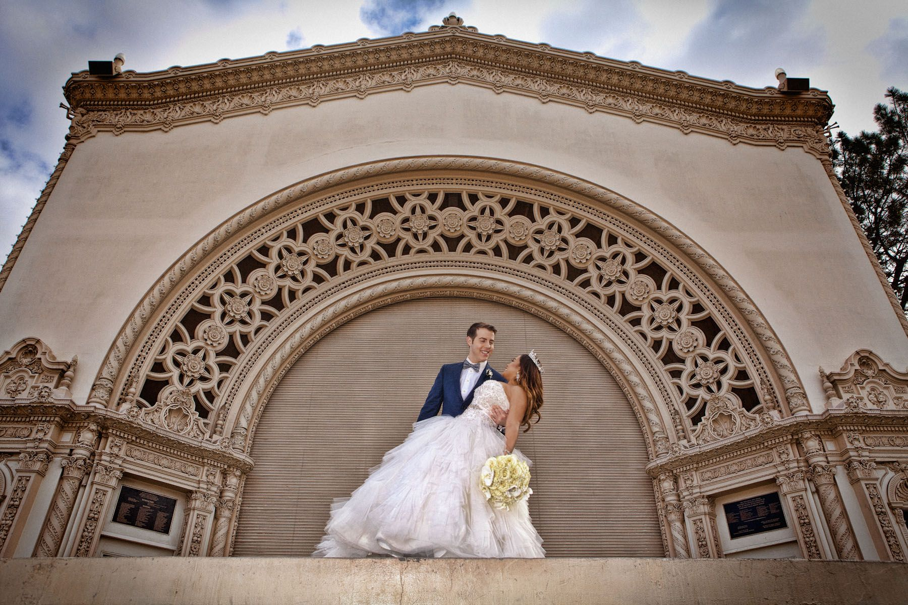 Wedding Photography, The Prado, San Diego, California