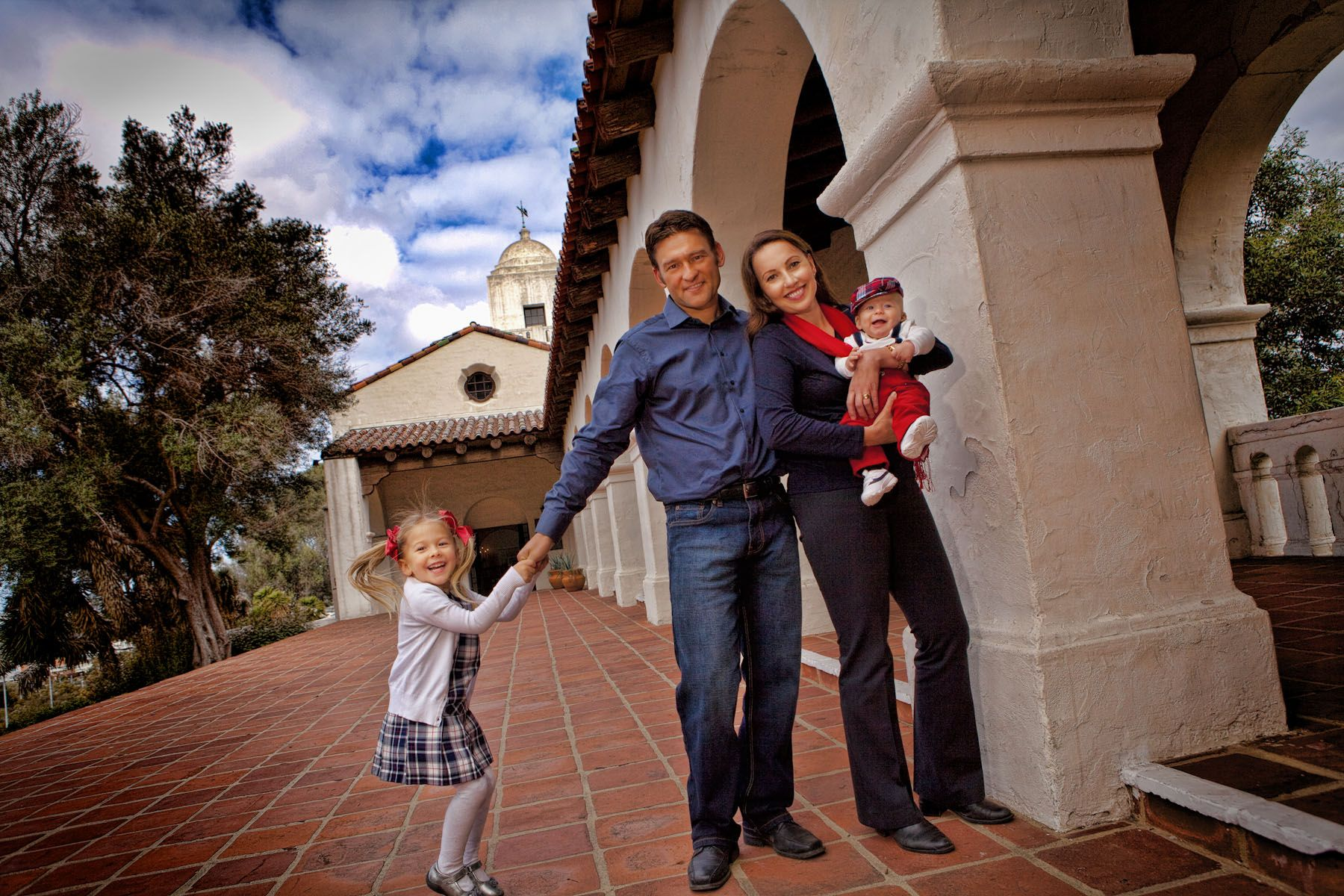 San Diego Family Photo, Presidio Park