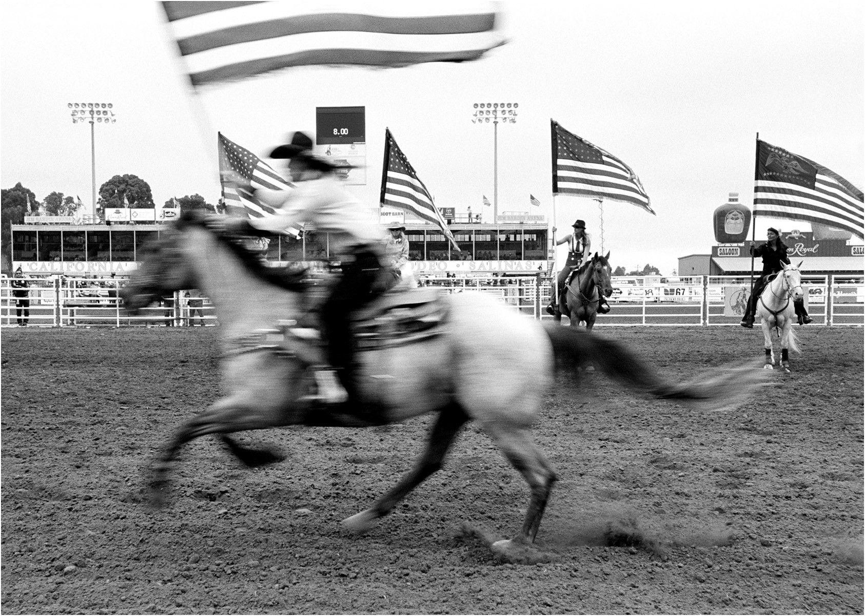 Flag Rider - California Rodeo Salinas