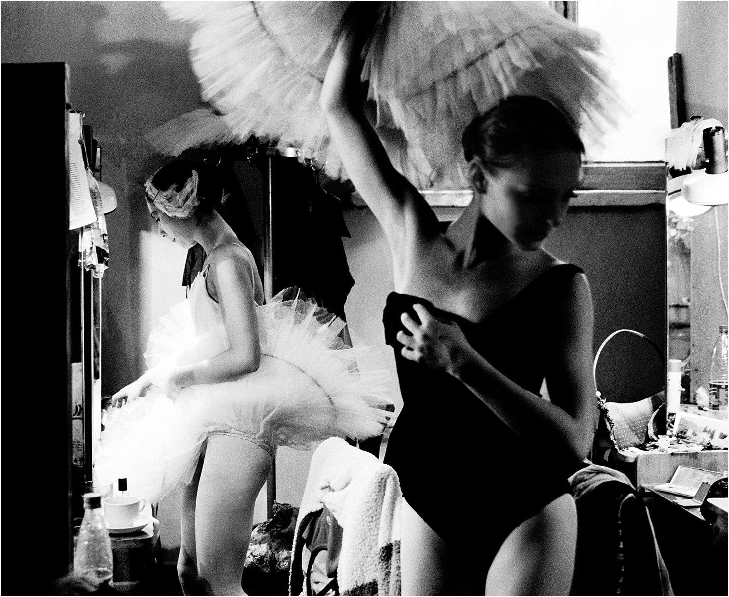 Backstage -The Russian Ballet - St. Petersburg, Russia