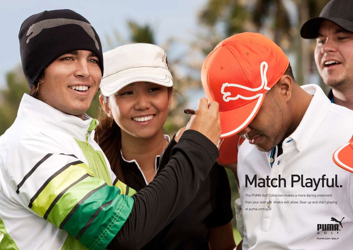 Rickie Fowler Puma - Orlando Commercial Advertising Photography