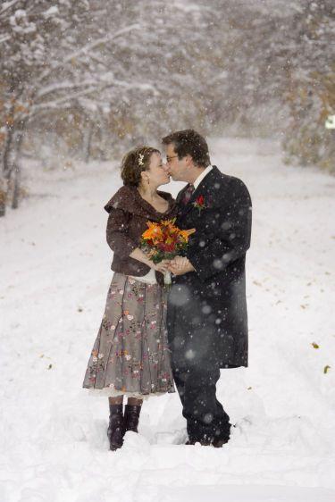winter elopement in Vermont