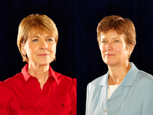 Martha Coakley and Mary Bonauto
