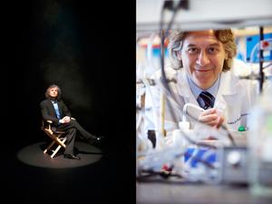 Steven Pinker and Alessio Fasano, M.D.