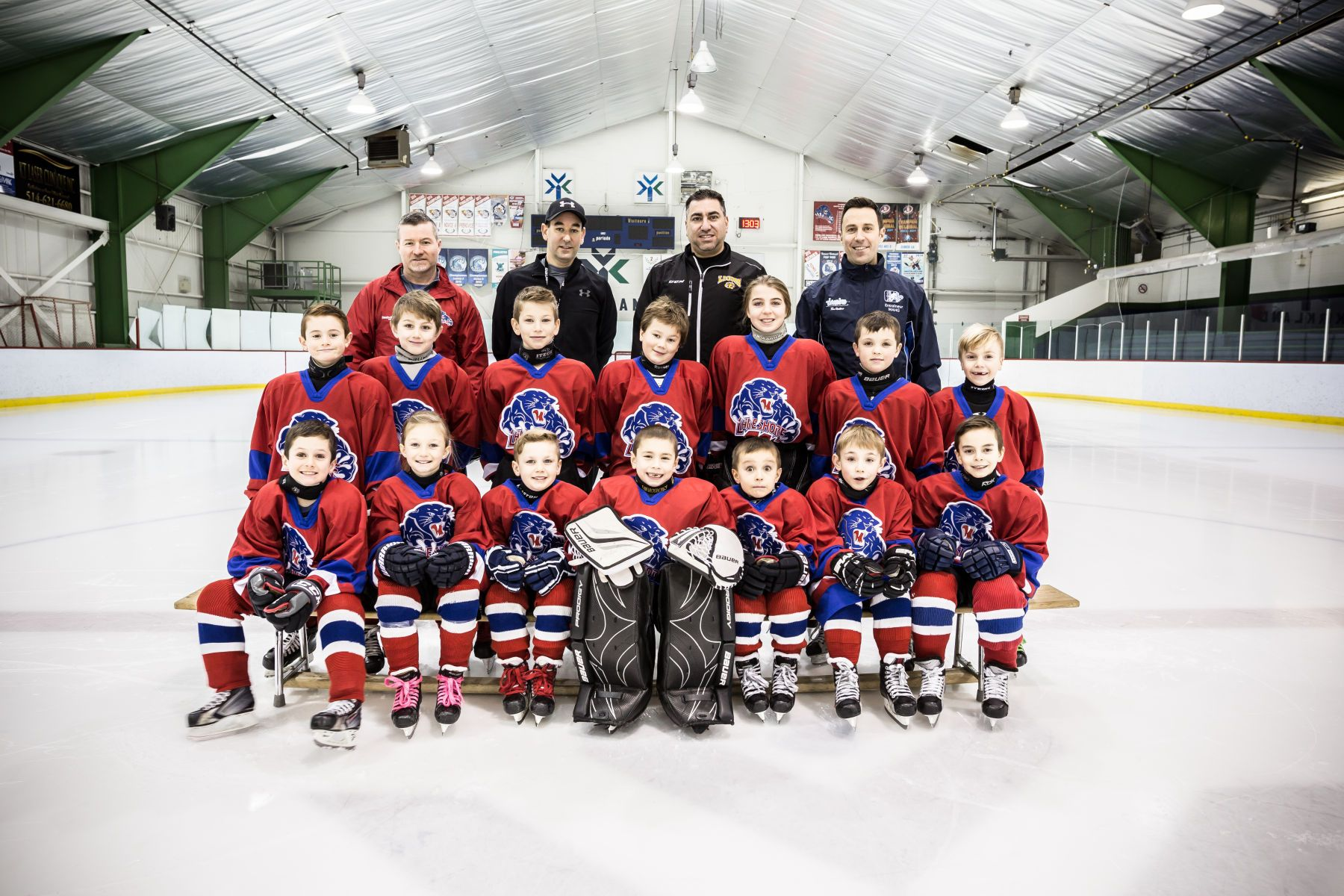 Novice Hockey Team