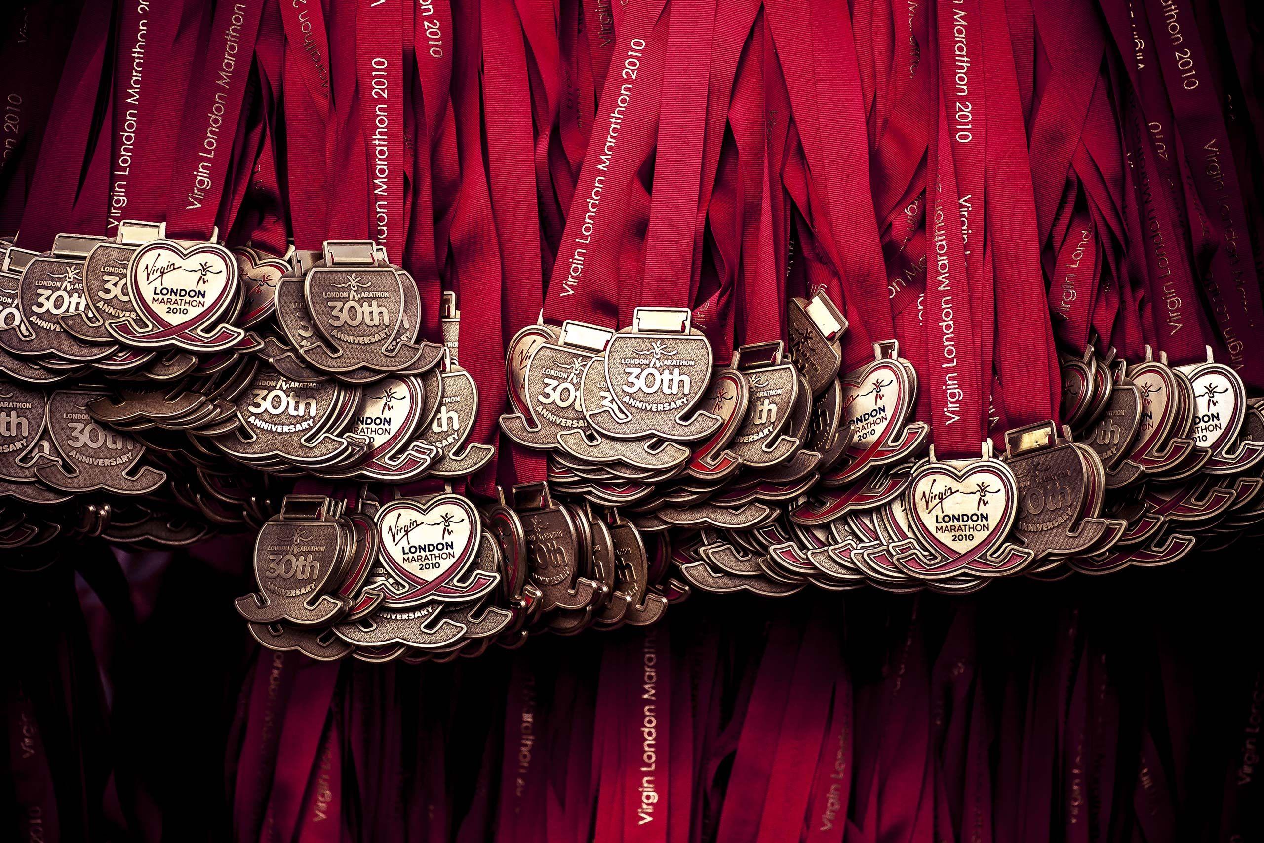 Virgin London Marathon Medal