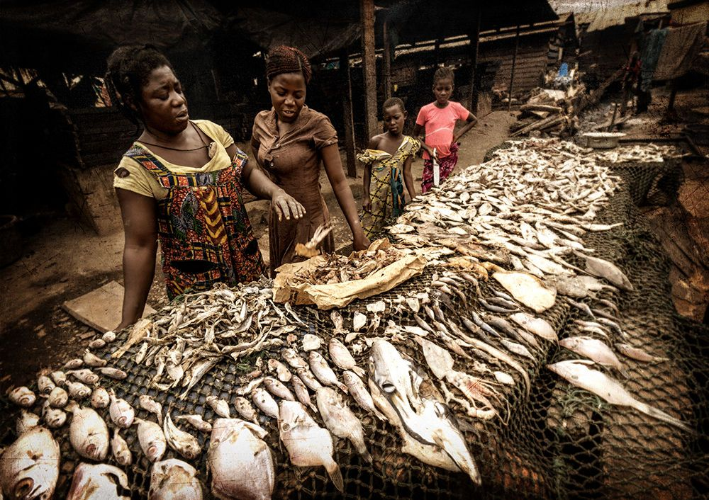 Elmina fish sellers
