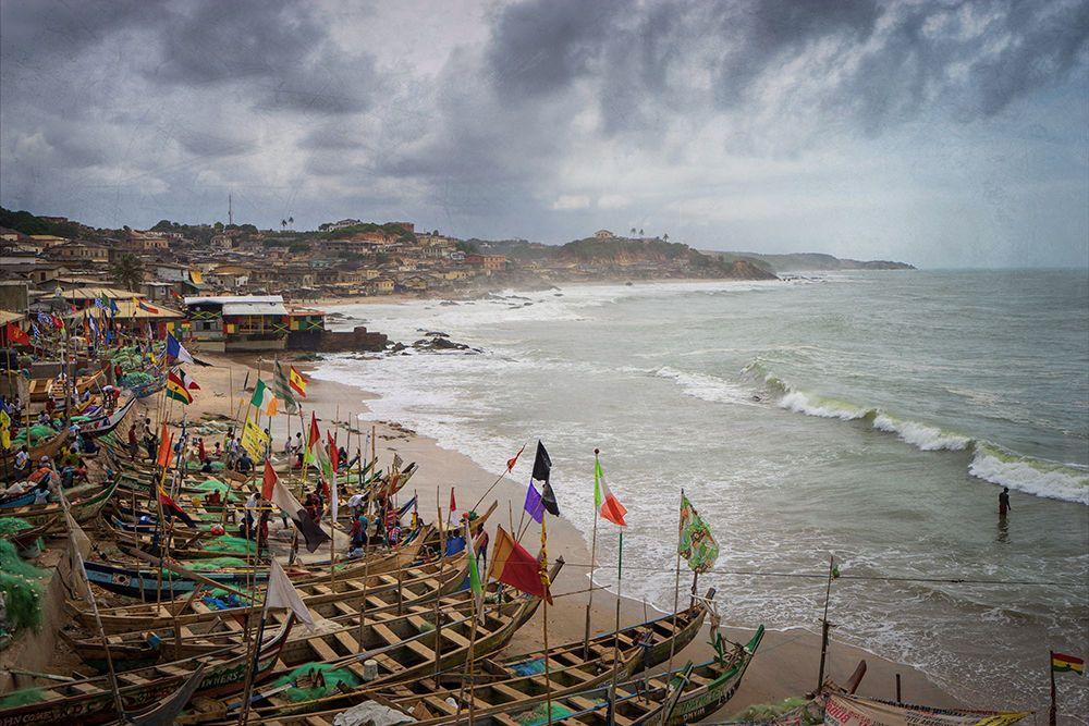 Cape Coast Fishing Village