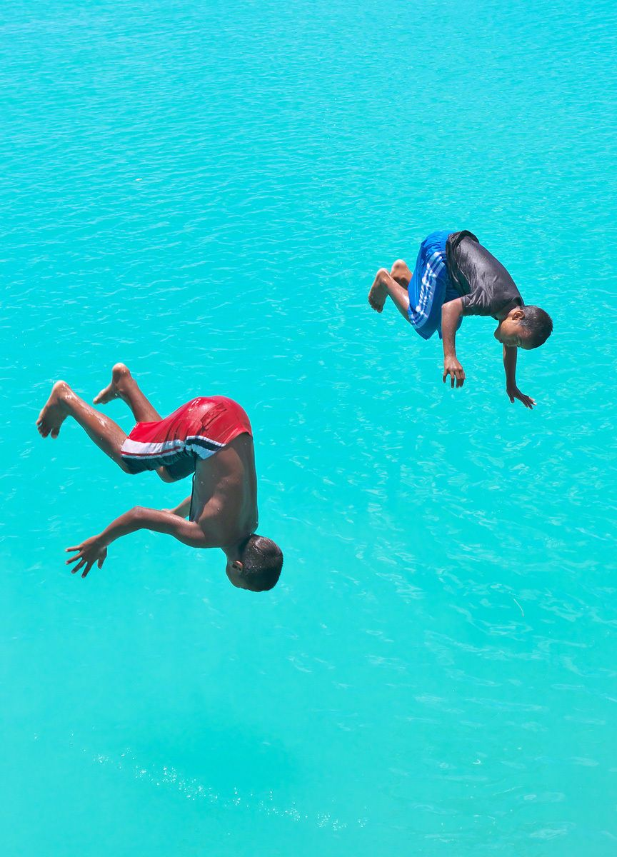 Jumping into the Blue
