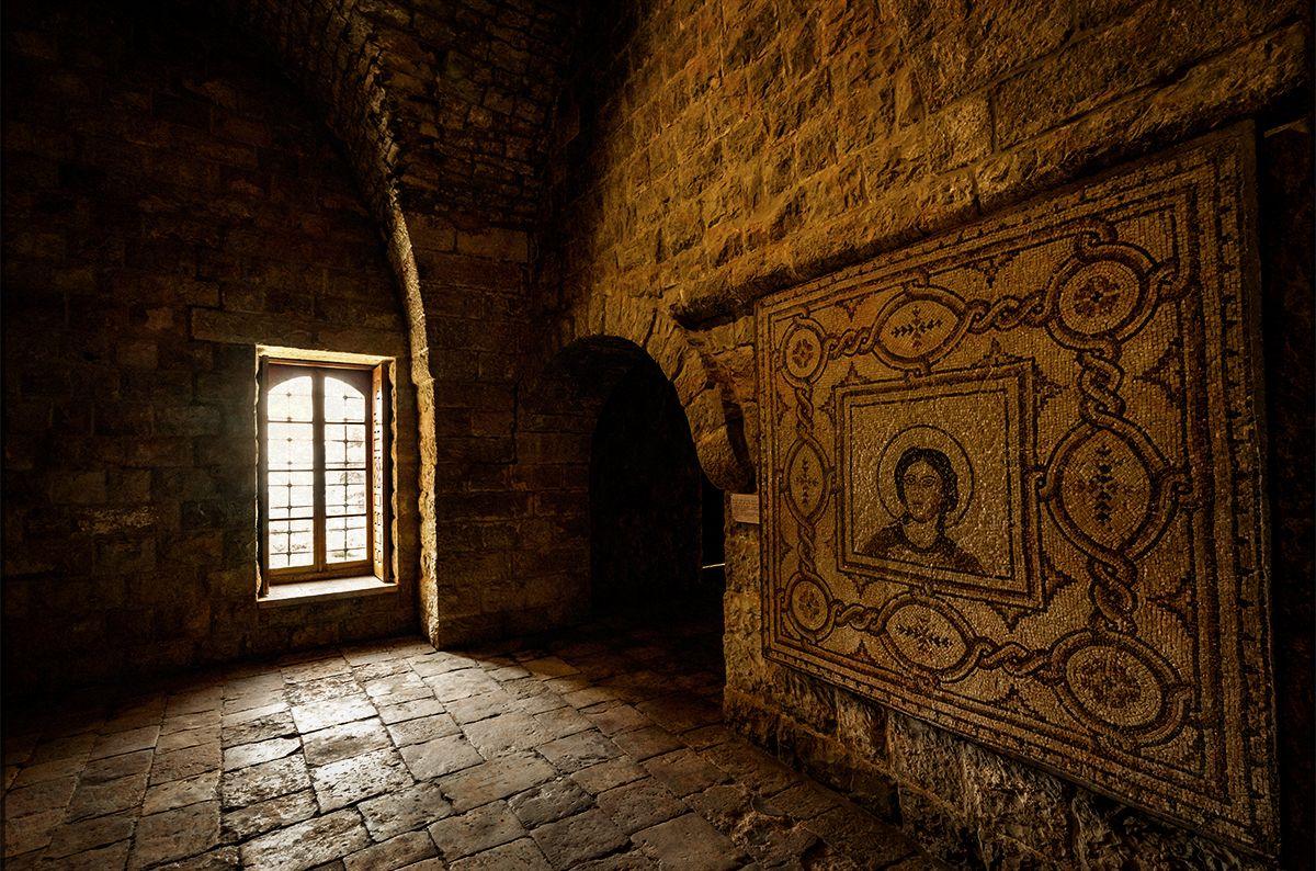 Beiteddine Palace Dar el-Harim mosaic