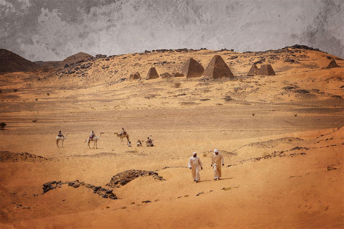 Meroe Pyramids Begrawira 3