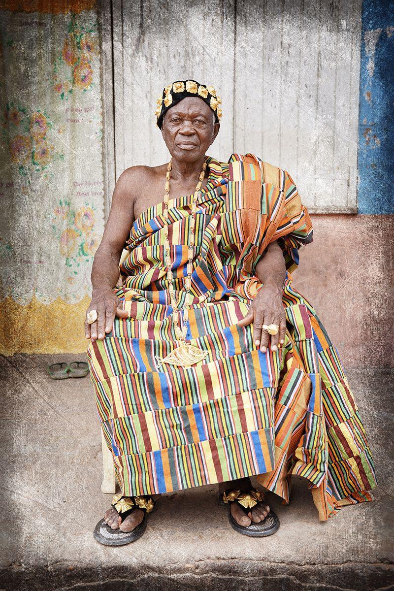 Chief of Nton-Aboma Village
