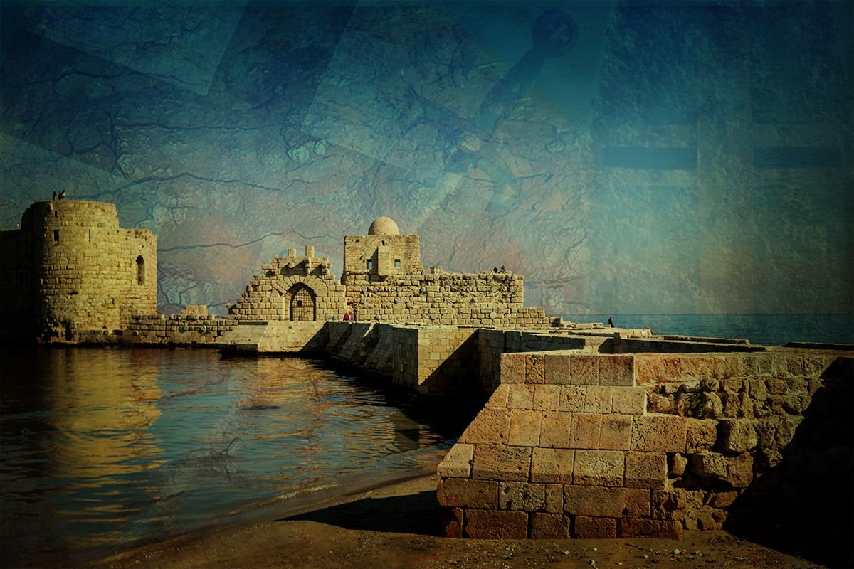 Sea Castle of Sidon (Saida)