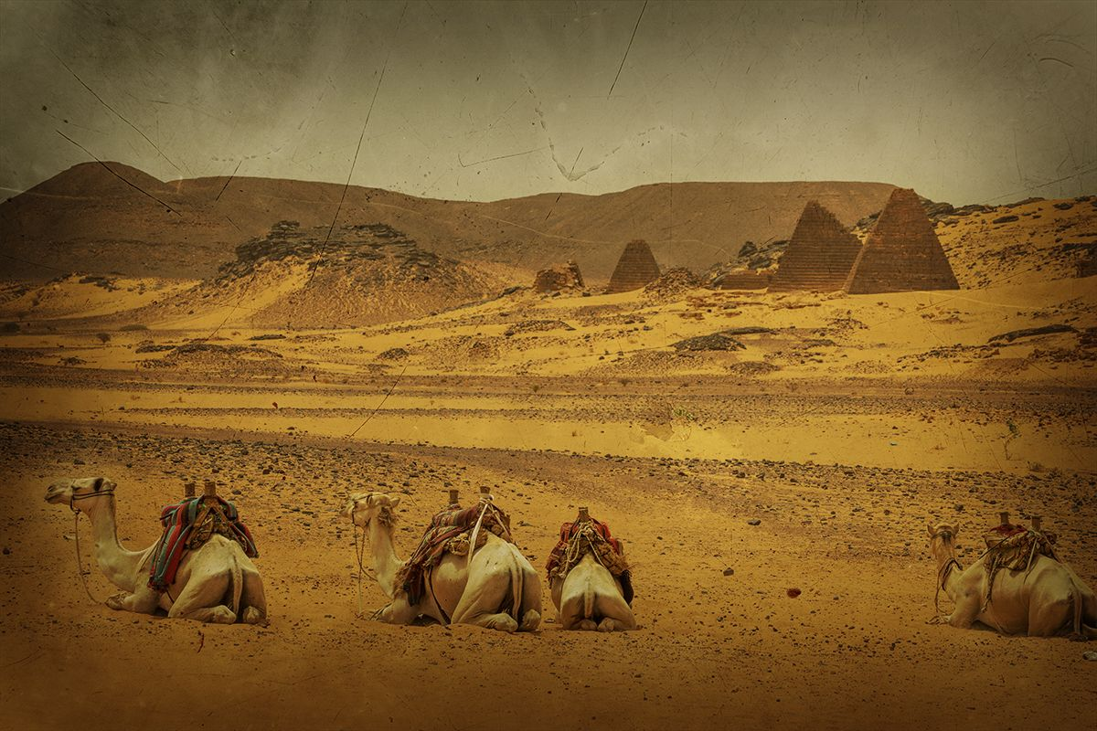 Nubian Pyramids of Meroe
