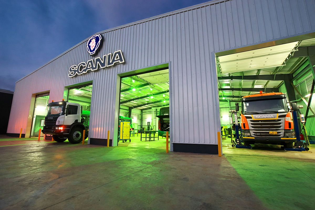 Scania workshop